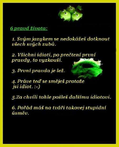 6 pravd života