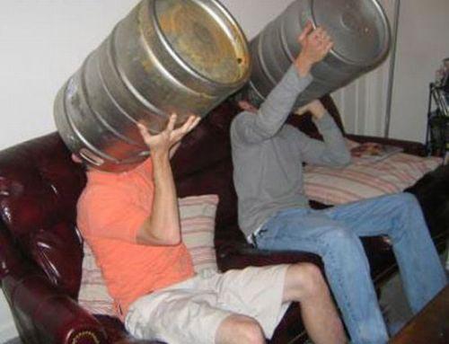 Naši kluci mají rádi pivo