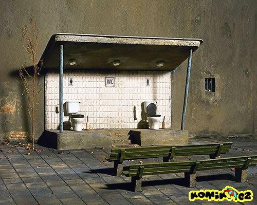Tak tomu říkám veřejné WC